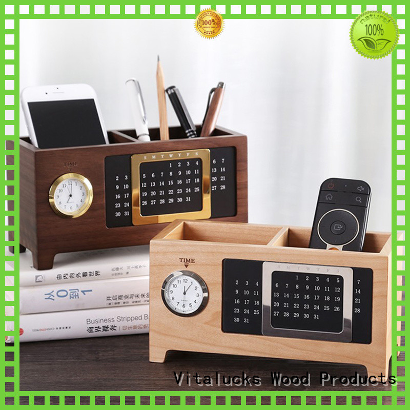 Vitalucks workmanship custom pen holder best price manufacturing