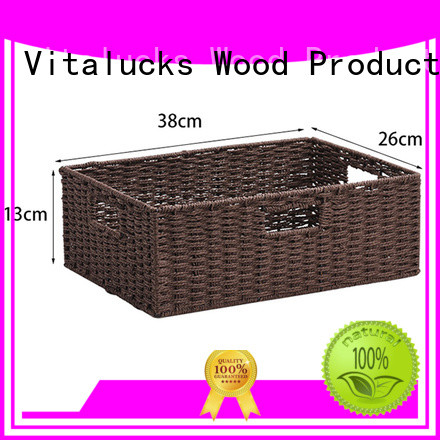 wholesale paper rope basket quality assured production