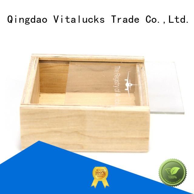 Vitalucks hot-sale bulk wooden boxes wholesale fast delivery