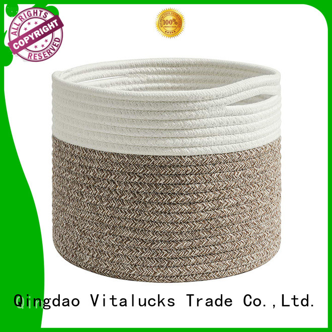 Vitalucks tote baskets storage fast delivery manufacturing