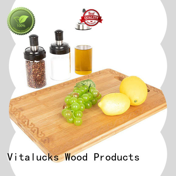 Vitalucks professional wooden chopping boards custom for chopping meat