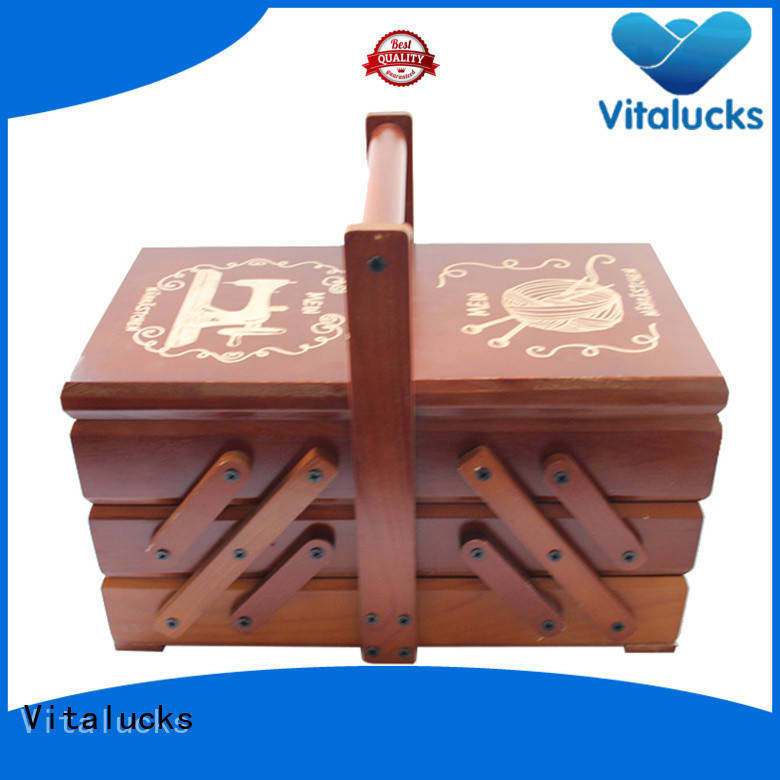Vitalucks favorable price wooden packaging box fashion fast delivery