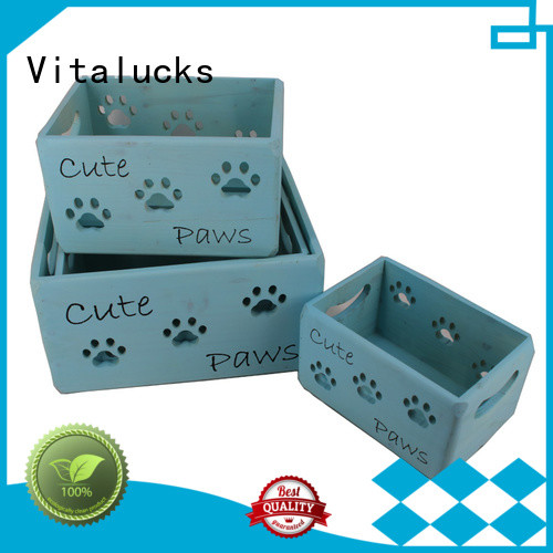 Vitalucks customized essential oil wood box high-quality at discount