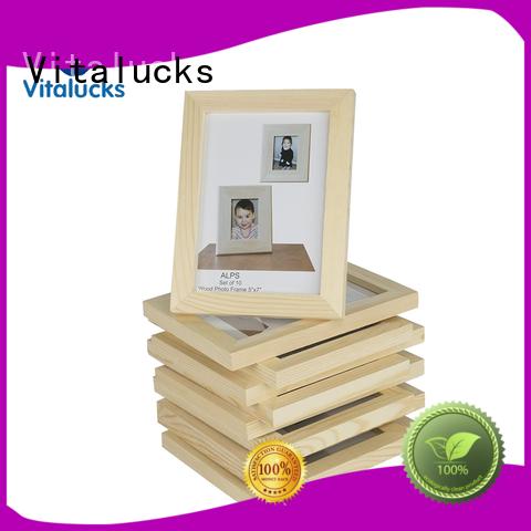Vitalucks chic custom wood picture frames bulk supply best factory