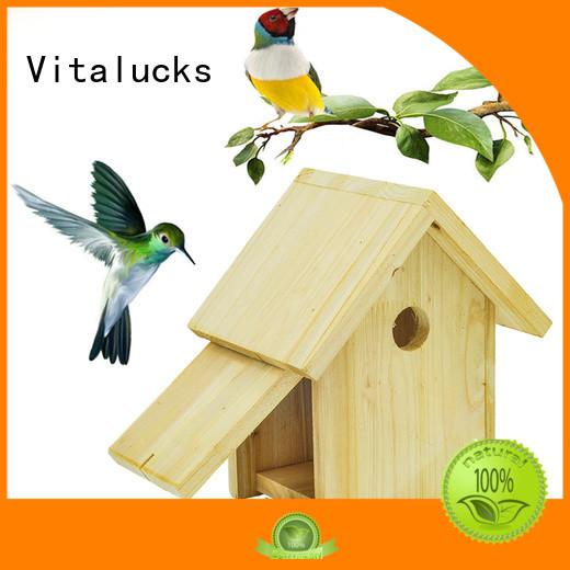 Vitalucks latest wooden bird box custom fast delivery