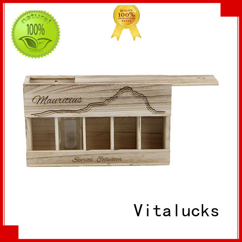 Vitalucks wooden wine box fast delivery large storage