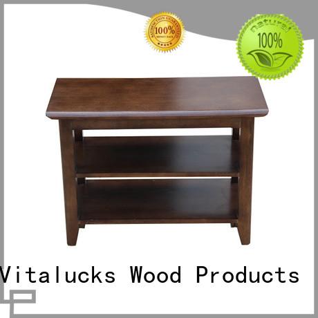 Vitalucks durable corner shoe storage cabinet simple structure for family