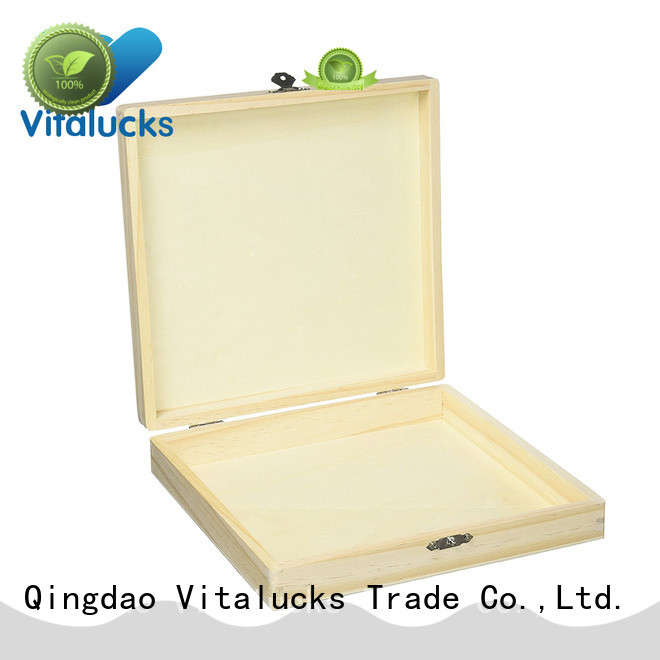 Vitalucks custom cigar boxes hot-sale production