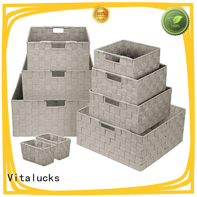 Vitalucks anti-stain gift basket supplies custom bulk supply