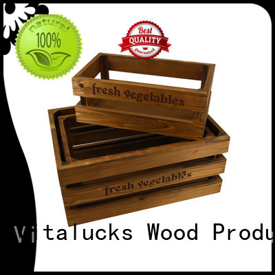 Vitalucks advanced production technology wooden crate popular fast delivery
