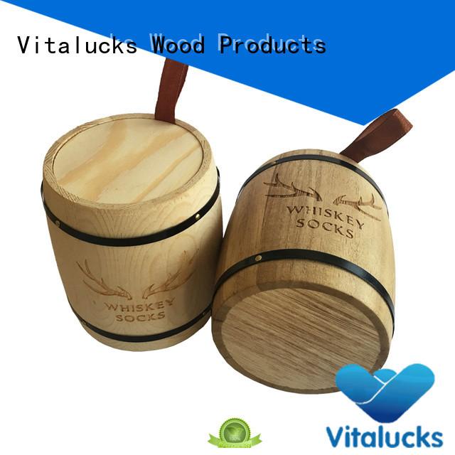 Vitalucks wooden canister advantageous