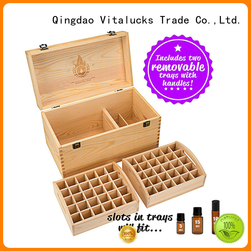 Vitalucks practical essential oil storage box quality assured best qualtiy