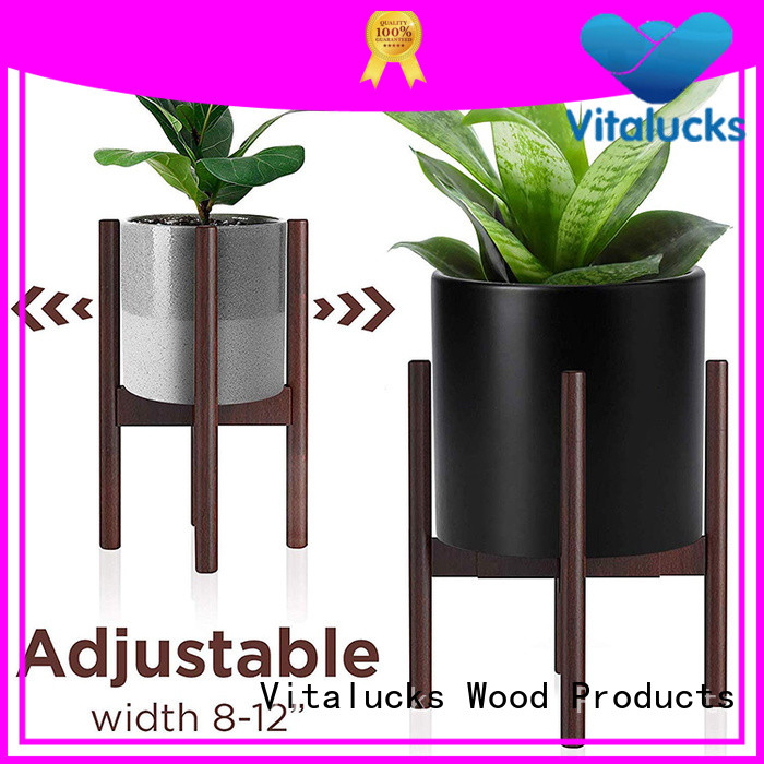 Vitalucks modern wooden home decors oem&odm favorable price
