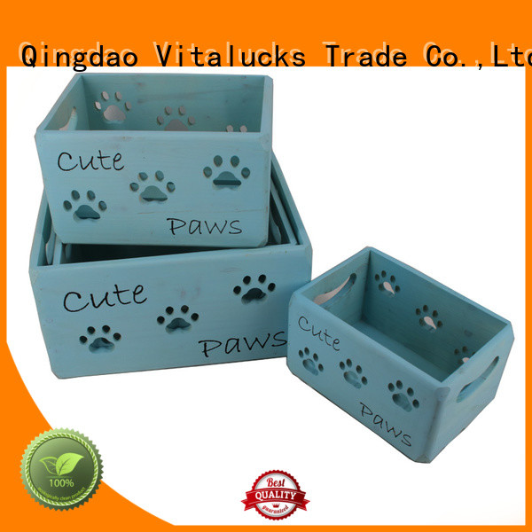 Vitalucks fine workmanship wooden crate box high quality best factory price