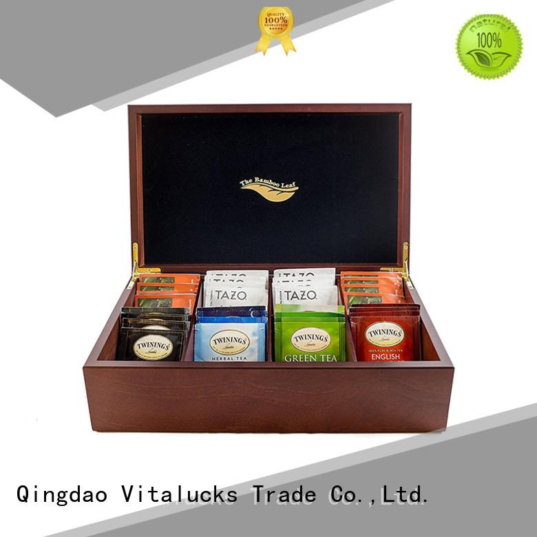 custom wooden tea chest oem&odm manufacturing