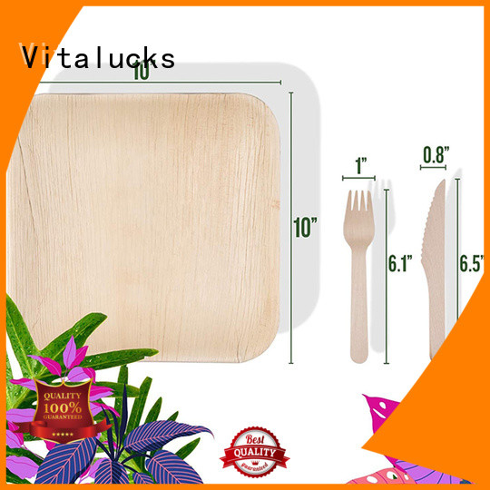 Vitalucks wooden tableware highly recognized for wholesale