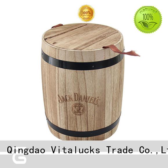 Vitalucks wooden kitchen canisters multi-functional bulk supply