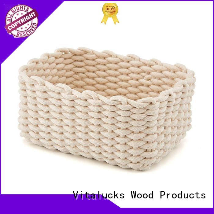 custom rope storage basket practical best price