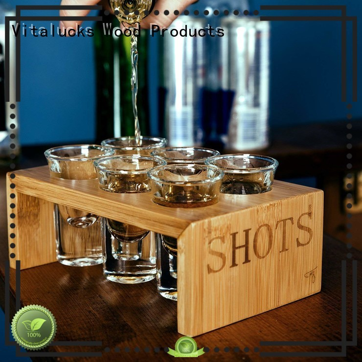 Vitalucks wholesale supply wooden trays wholesale best quality for bar