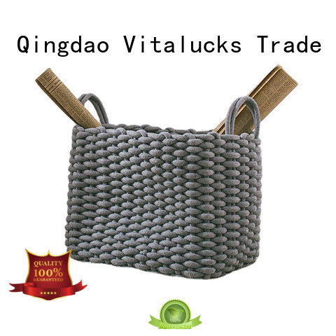 Vitalucks wholesale supply home storage baskets fast delivery customizaition