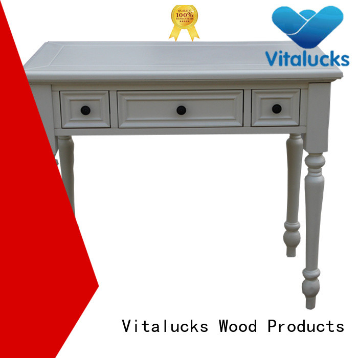 Vitalucks small wood dining table office workstation