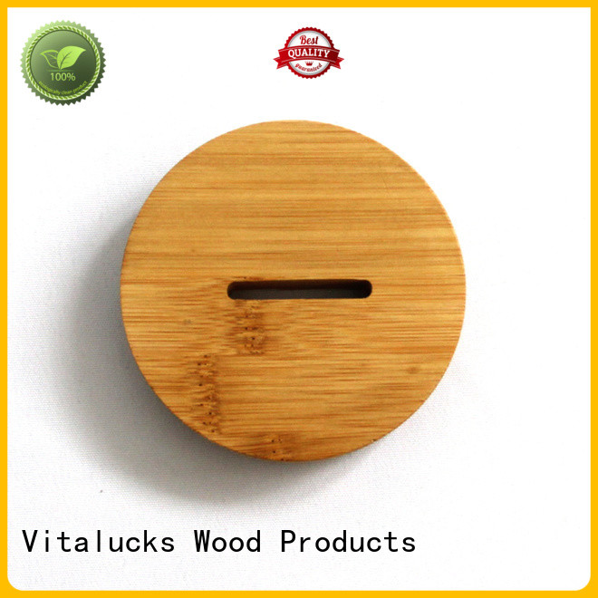 wholesale weck wood jar lids fast delivery manufacturing
