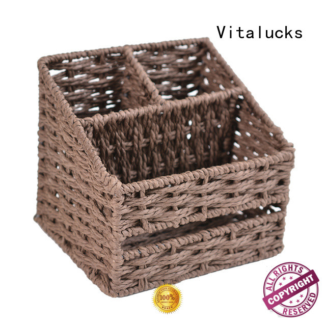 high quality nursery storage baskets pratical manufacturing