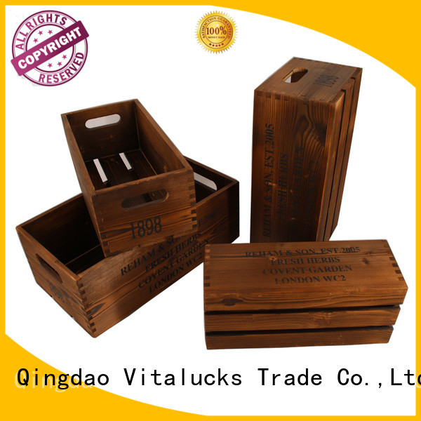 advanced production technology wooden gift crate popular best factory price