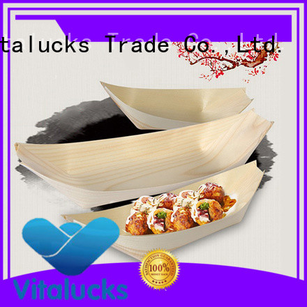 disposable wholesale sushi boat multi-functional for food display
