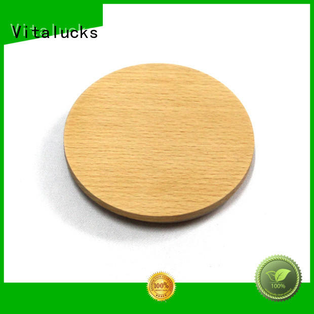 Vitalucks professional wooden lid fast delivery production