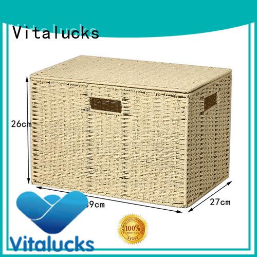 Vitalucks round woven basket favorable price production