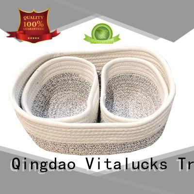 Vitalucks beautiful storage baskets practical customizaition