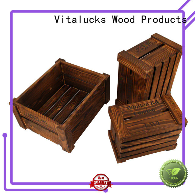 advanced production technology decorative wooden crates popular