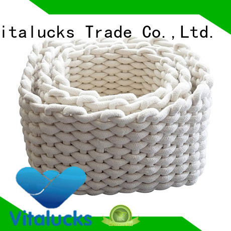 Vitalucks beautiful storage baskets manufacturing