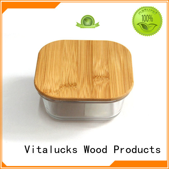 Vitalucks best price wooden candle lids sustainable production