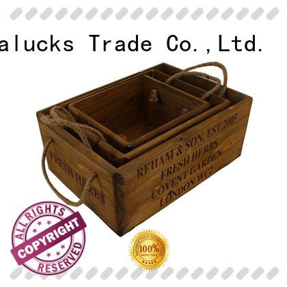 Vitalucks fine workmanship wooden crate box hot-sale best factory price