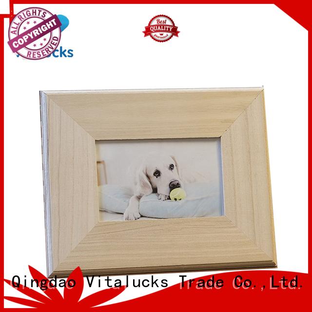Vitalucks wooden picture frame bulk supply best factory