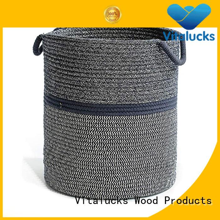 Vitalucks basket weave storage boxes best price