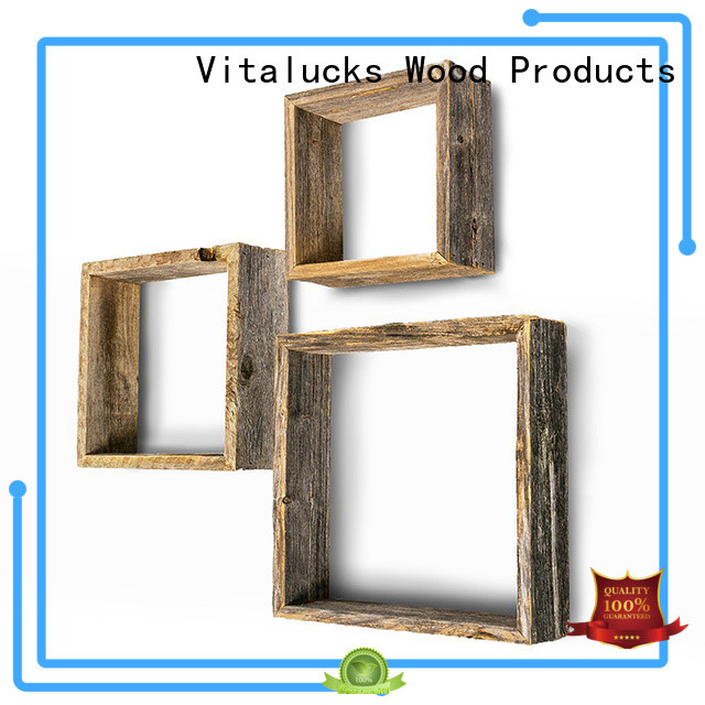 hot-sale wall mounted wooden shelves professional fast delivery