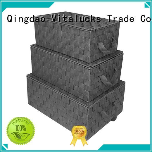 Vitalucks anti-stain basket weaving supplies wholesale custom fine workmanship