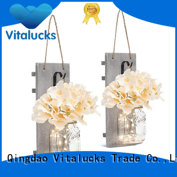 Vitalucks hot-sale hanging wood shelves great technical ability fast delivery