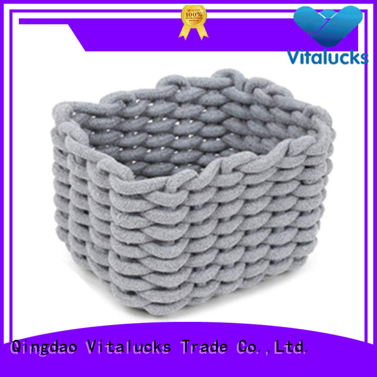 Vitalucks large storage baskets for shelves practical best price