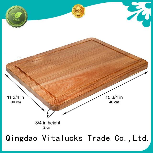 Vitalucks oem&odm wood cutting boards custom for chopping meat