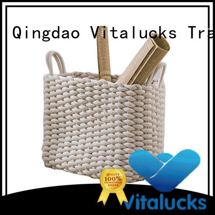 professional basket storage boxes with lids best price