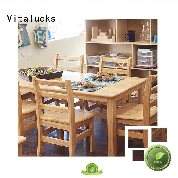 Vitalucks oem&odm wooden chair latest deisign best price