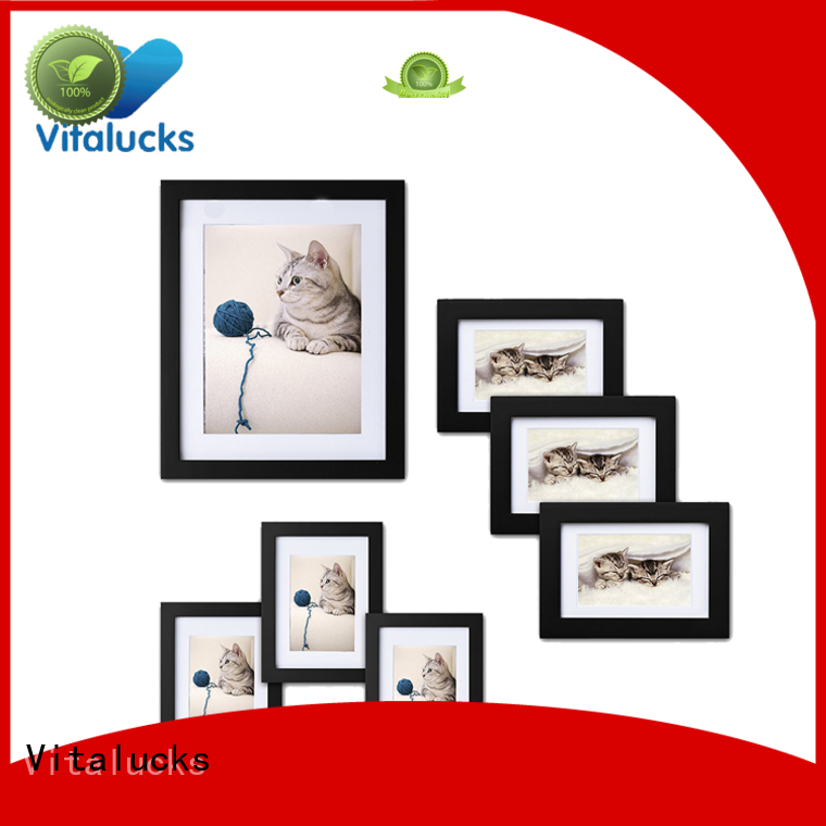 chic large wooden photo frames sample manufacturing
