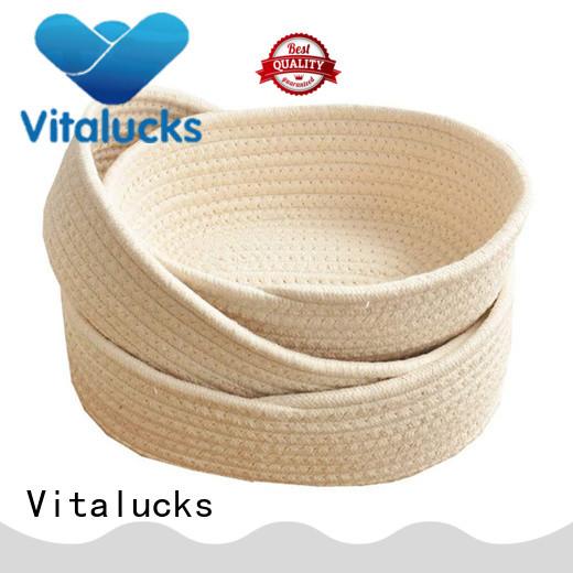 Vitalucks large basket for blankets practical best price