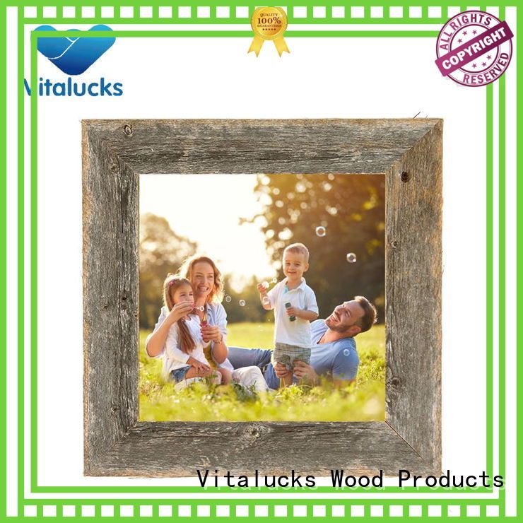 Vitalucks fashion custom wood picture frames wholesale supply manufacturing