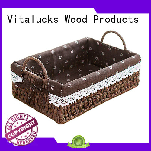Vitalucks well-chosen material unique storage baskets pratical production