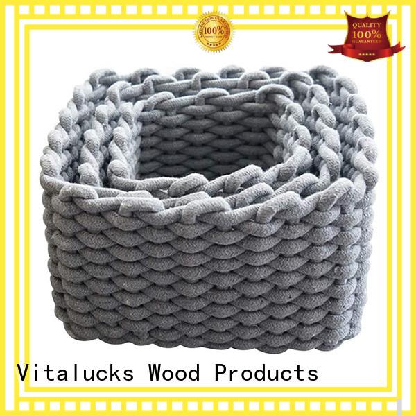 Vitalucks wholesale supply home storage baskets high qualtiy best price